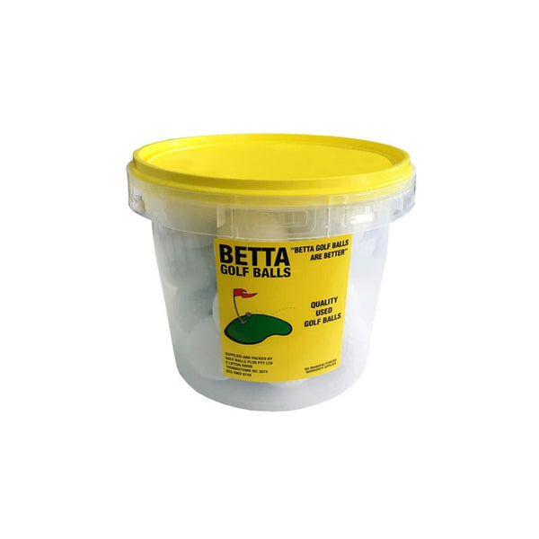 BETTA QUALITY 28 USED GOLF BALLS BUCKET