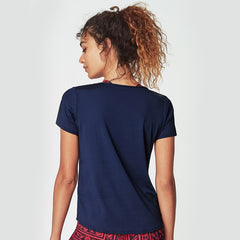 RUNNING BARE WOMENS ON YOUR MARKS TEE