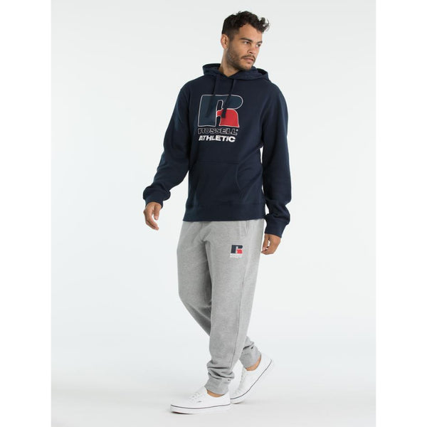RUSSELL ATHLETIC MENS TEAM HOODIE NAVY