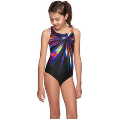 SPEEEDO GIRLS RETRO WINGS CROSSBACK ONE PIECE