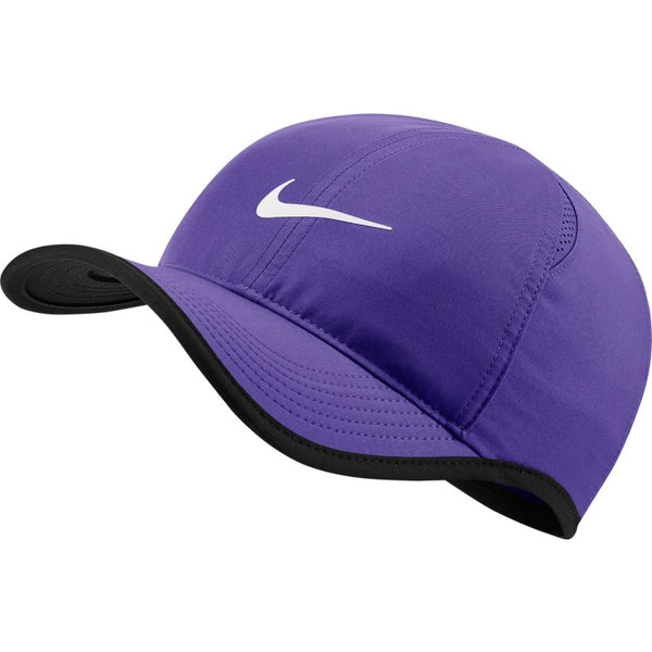 NIKE ADULT COURT AEROBILL FEATHERLIGHT CAP PURPLE
