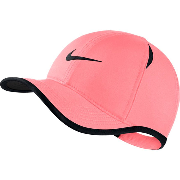 NIKE KIDS AEROBILL FEATHERLIGHT CAP PINK GAZE/BLACK