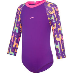SPEEDO TODDLER GIRLS SUN SUIT