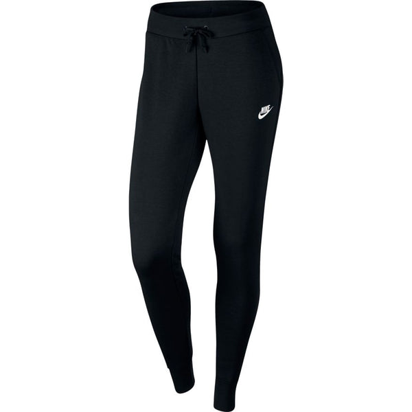 NIKE WOMENS SPORTSWEAR SLIM FIT FLEECE PANT BLACK