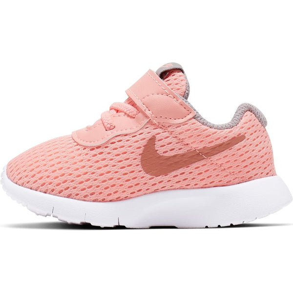 NIKE KIDS TANJUN (TDV) PINK TINT/METALIC ROSE GOLD-ATMOSPHERE GREY