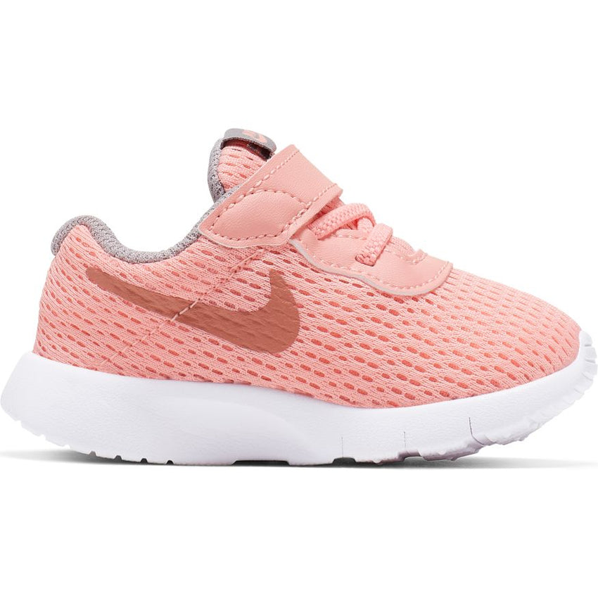 NIKE KIDS TANJUN (TDV) PINK TINTMETALIC ROSE GOLD ATMOSPHERE GREY