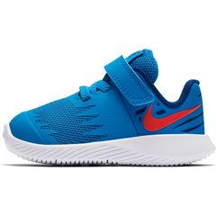 NIKE KIDS STAR RUNNER (TDV) PHOTO BLUE/RED ORBIT-INDIGO FORCE-WHITE
