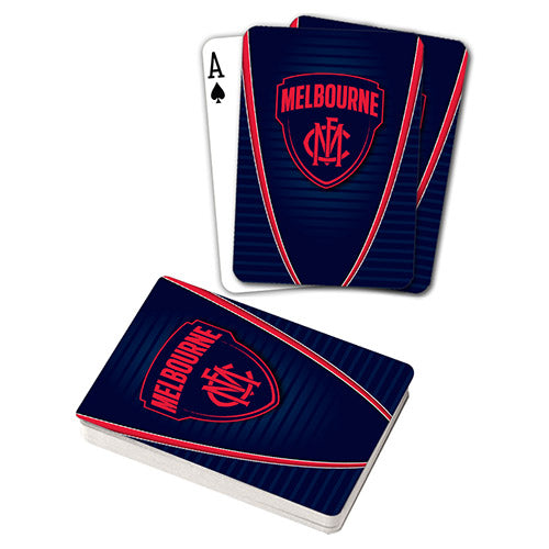 AFL PLAYING CARDS MELBOURNE DEMONS