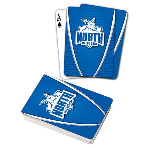 AFL PLAYING CARDS NORTH MELBOURNE KANGAROOS