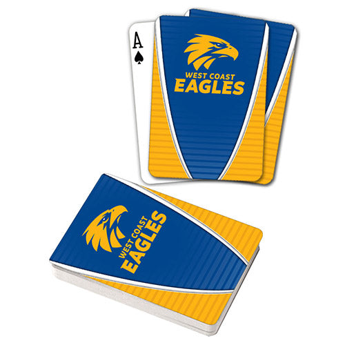 AFL PLAYING CARDS WEST COAST EAGLES