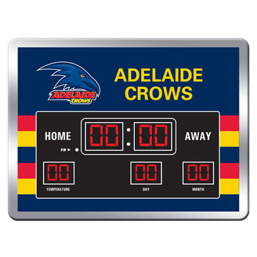 AFL SCOREBOARD CLOCK ADELAIDE CROWS