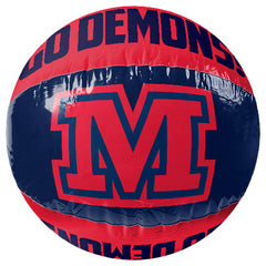 AFL INFLATABLE BEACH BALL MELBOURNE DEMONS