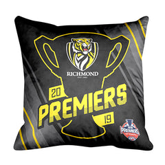 AFL GRAND FINAL SQUARE CUSHION RICHMOND TIGERS