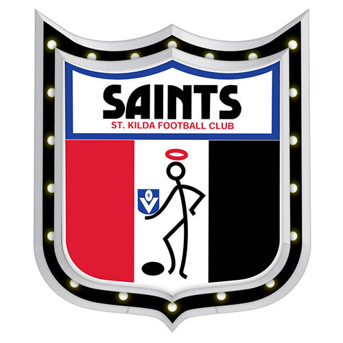 AFL 1ST 18 LIGHT-UP SIGN ST KILDA SAINTS