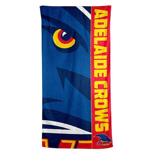 AFL BEACH TOWEL ADELAIDE CROWS