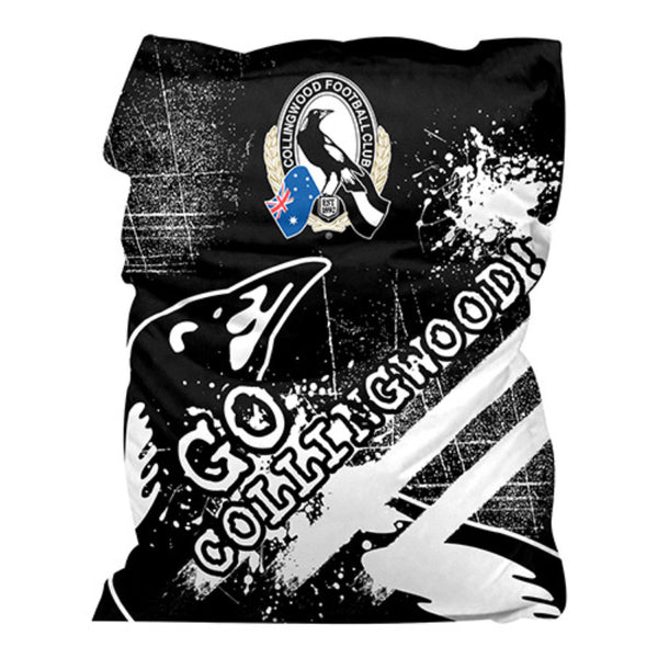 AFL GIANT BEAN BAG COLLINGWOOD MAGPIES