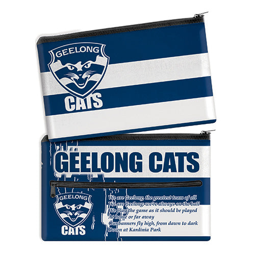 AFL SONG PENCIL CASE GEELONG CATS