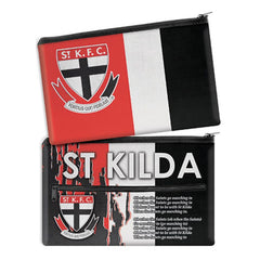 AFL SONG PENCIL CASE ST KILDA SAINTS