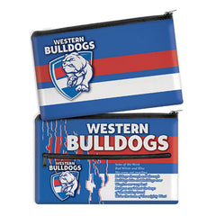 AFL SONG PENCIL CASE WESTERN BULLDOGS
