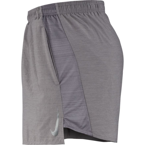 NIKE MENS CHALLENGER 5 INCH BRIEF LINED RUNNING SHORT
