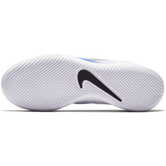 NIKE KIDS JUNIOR PHANTOM VENOM CLUB INDOOR COURT WHITE/BLACK-RACER BLUE