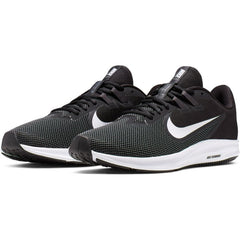 NIKE MENS DOWNSHIFTER 9 BLACK/WHITE-ANTHRACITE-COOL GREY