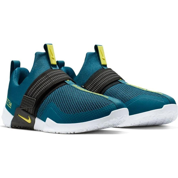 NIKE MENS METCON SPORT BLUE FORCE/DYNAMIC YELLOW-BLACK-WHITE
