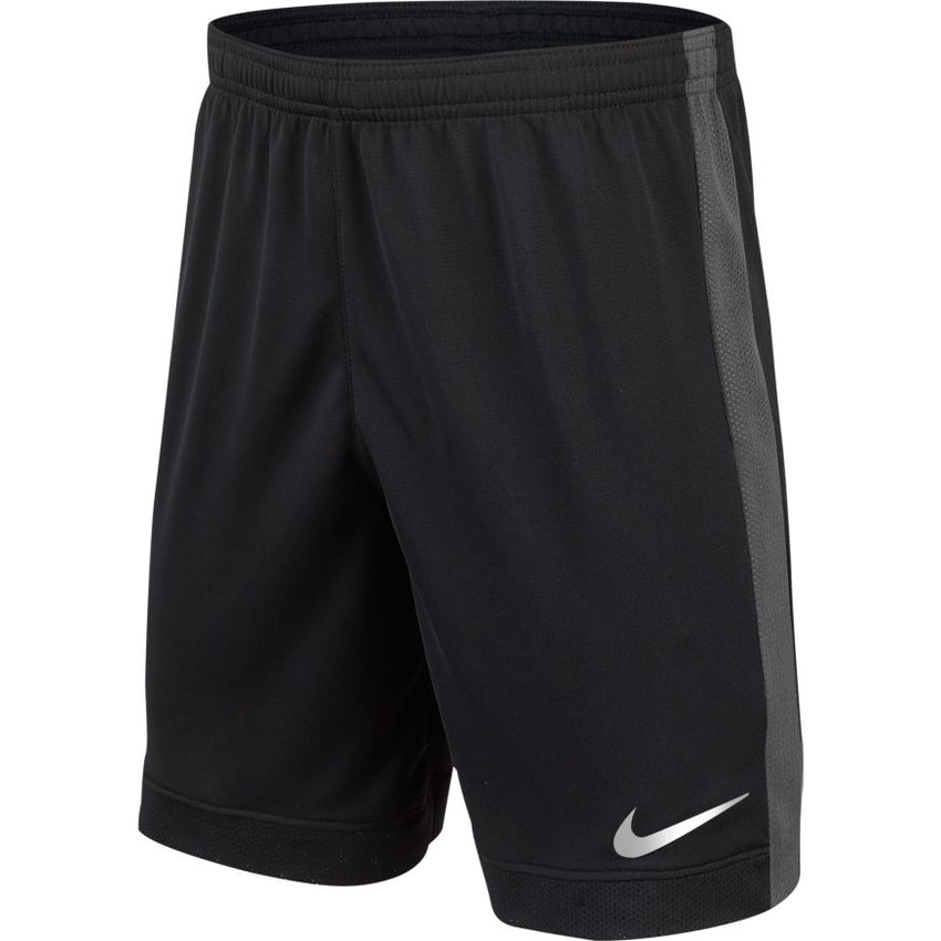 NIKE BOYS FLEX CHALLENGER 6 INCH SHORT BLACK/THUNDER GREY