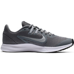 NIKE KIDS DOWNSHIFTER 9 (GS) COOL GREY/METALLIC SILVER - WOLF GREY