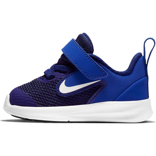NIKE KIDS DOWNSHIFTER 9 (TDV) DEEP ROYAL BLUE/WHITE-GAME ROYAL-BLACK