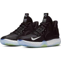 NIKE MENS KD TREY 5 VII BLACK/WHITE-COOL GREY-VOLT