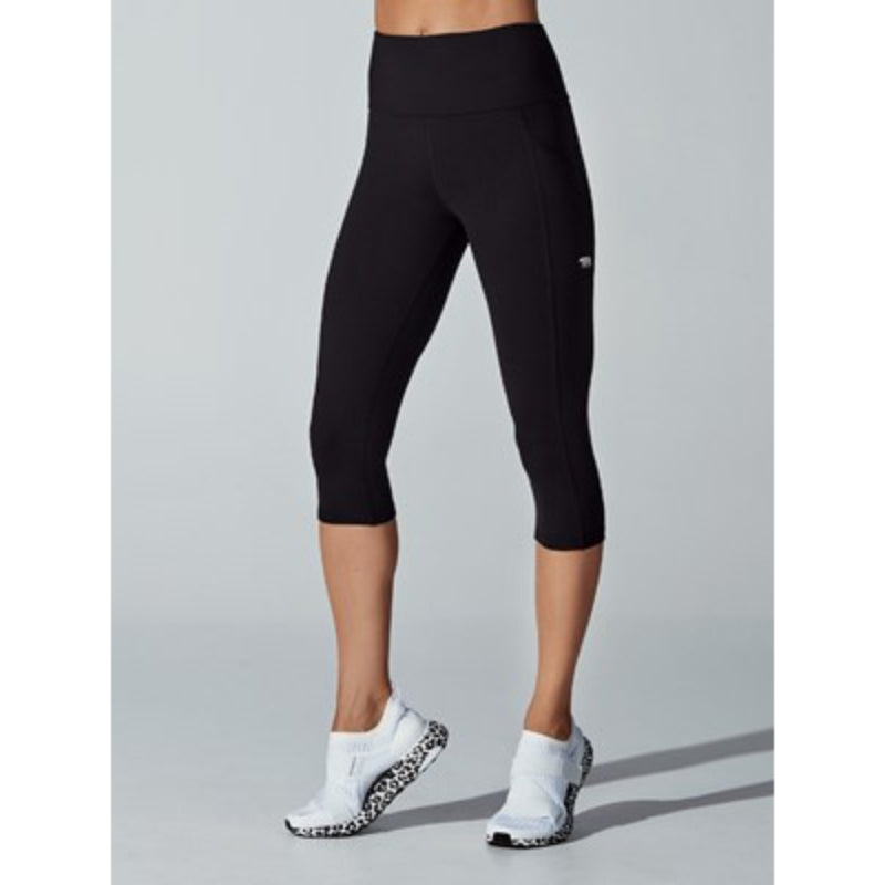 RUNNING BARE WOMENS POWER MOVES 3/4 TIGHTS