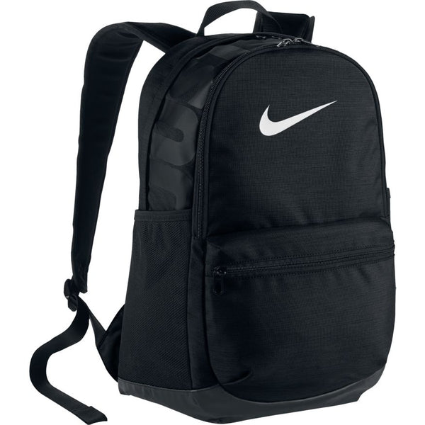 NIKE BRASILIA TRAINING BACKPACK BLACK/BLACK/WHITE