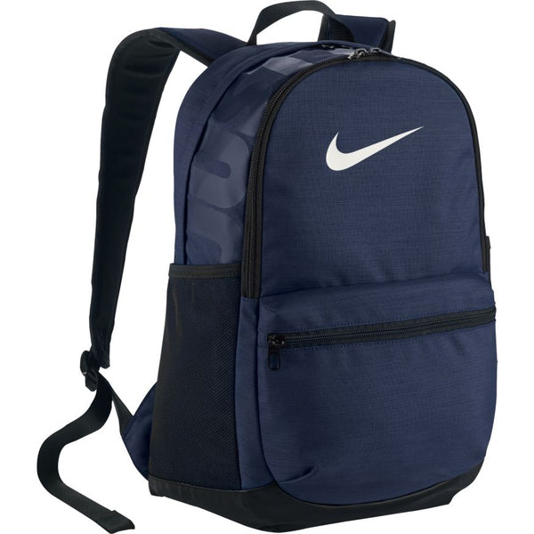 NIKE BRASILIA TRAINING BACKPACK MIDNIGHT NAVY/BLACK/WHITE