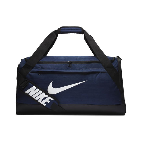 NIKE BRASILIA TRAINING DUFFEL BAG MIDNIGHT NAVY/BLACK/WHITE