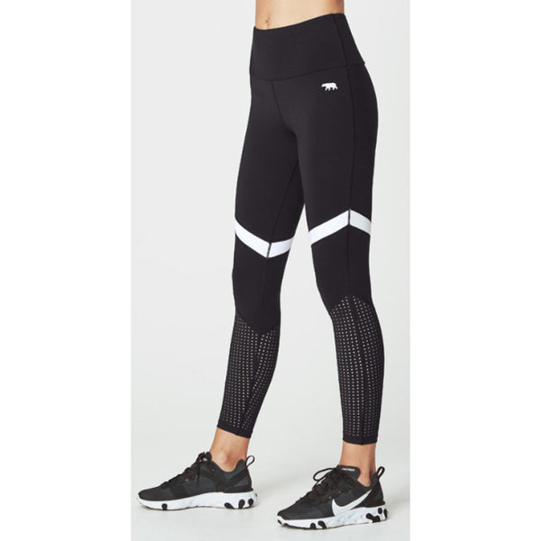 RUNNING BARE WOMENS OLD SKOOL FULL LENGTH TIGHT