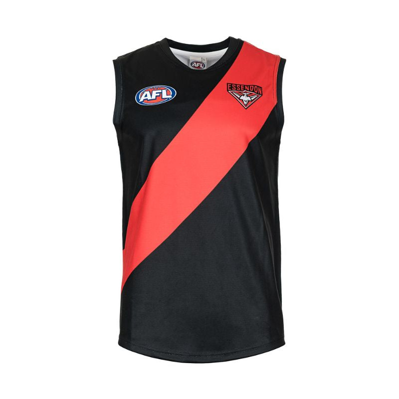 AFL REPLICA YOUTH GUERNSEY ESSENDON BOMBERS