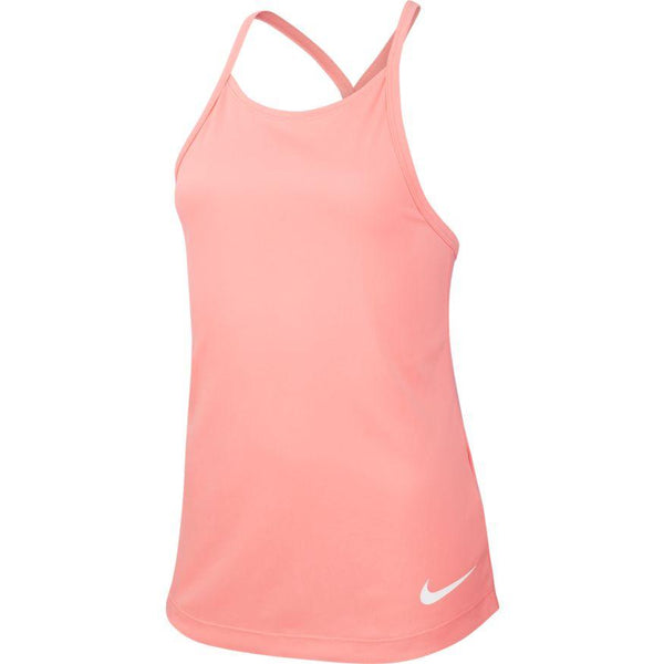 NIKE GIRLS DRI-FIT TRAINING TANK