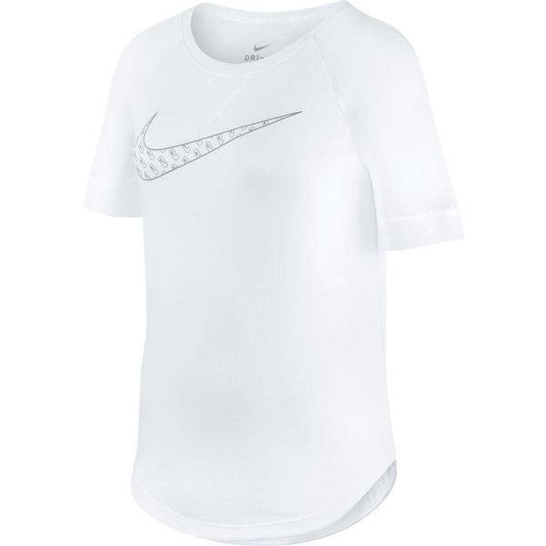 NIKE GIRLS DRI-FIT TROPHY GRAPHIC TRAINING TEE