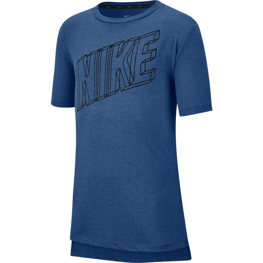 NIKE BOYS BREATHE GRAPHIC TRAINING TOP