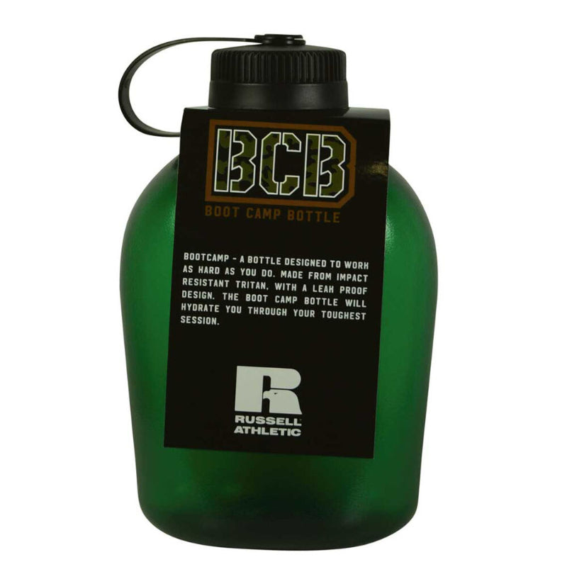 RUSSELL ATHLETIC BOOT CAMP DRINK BOTTLE ARMY GREEN