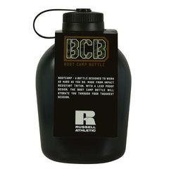 RUSSELL ATHLETIC BOOT CAMP DRINK BOTTLE BLACK