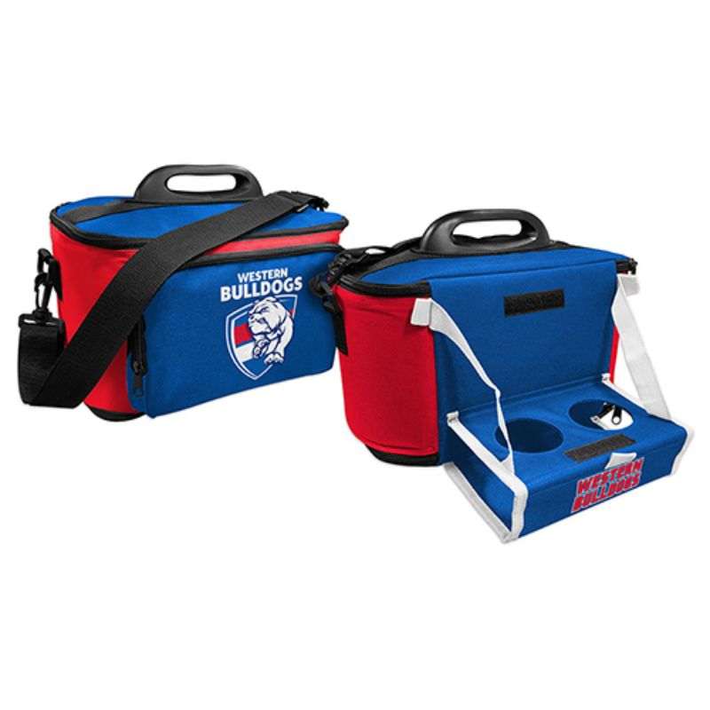 AFL COOLER BAG WITH TRAY WESTERN BULLDOGS