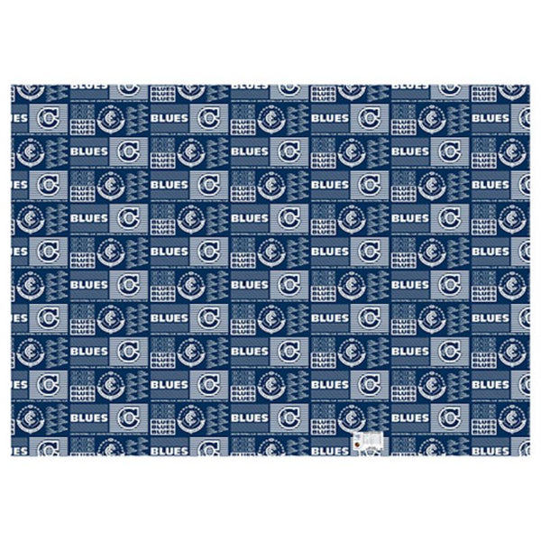 AFL WRAPPING PAPER CARLTON BLUES