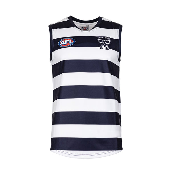 AFL REPLICA YOUTH GUERNSEY GEELONG CATS