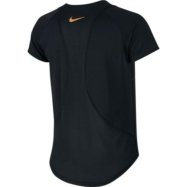 NIKE WOMENS GLAM TRAINING TEE