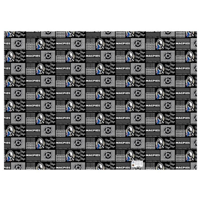 AFL WRAPPING PAPER COLLINGWOOD MAGPIES