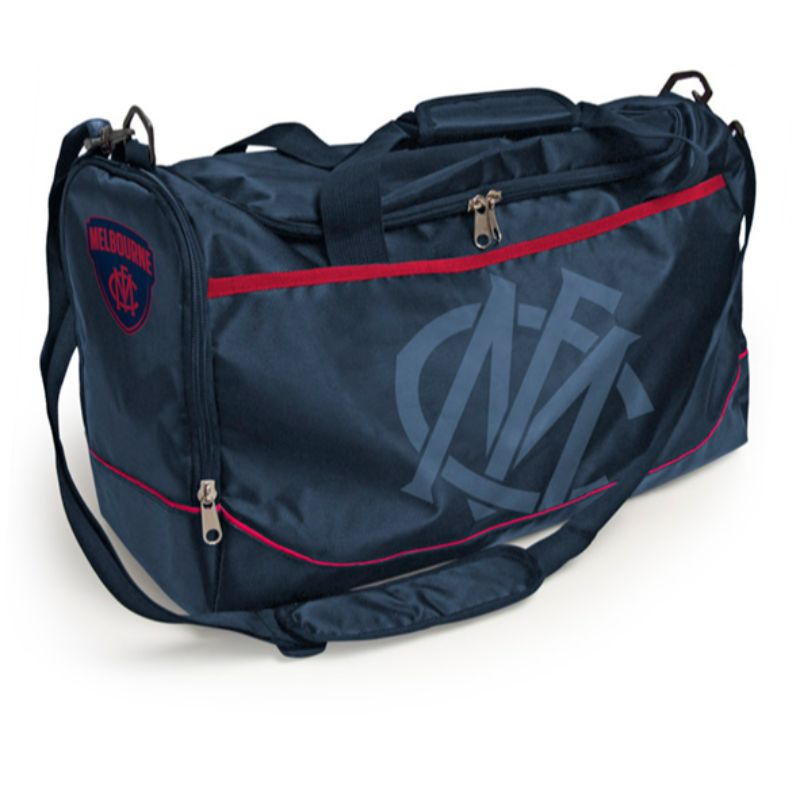 AFL SPORTS BAG MELBOURNE DEMONS