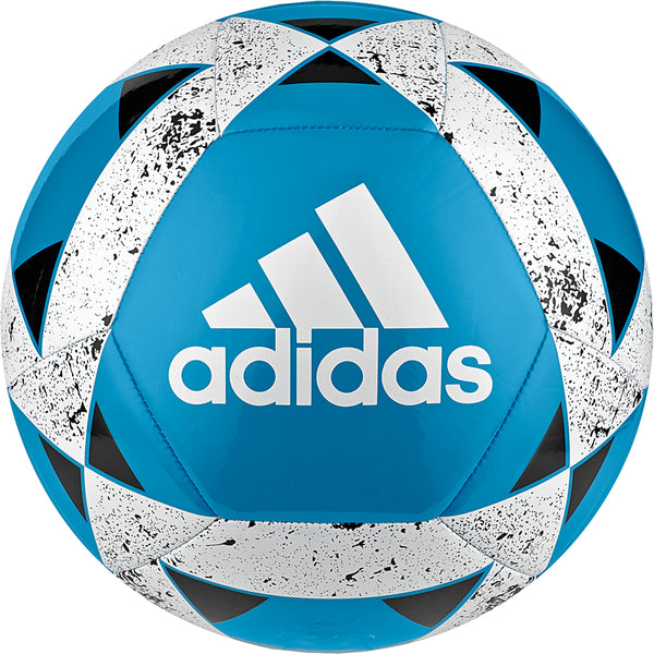 ADIDAS STARLANCER V SOCCER BALL SHOCK CYAN/WHITE/BLACK