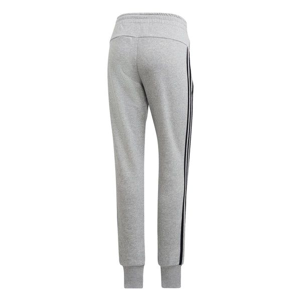 ADIDAS WOMENS MUST HAVES 3 STRIPES PANT MEDIUM GREY HEATHER/BLACK